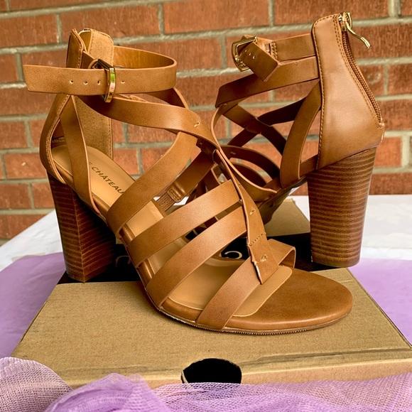NIB 💋Heeled Gladiator Sandals